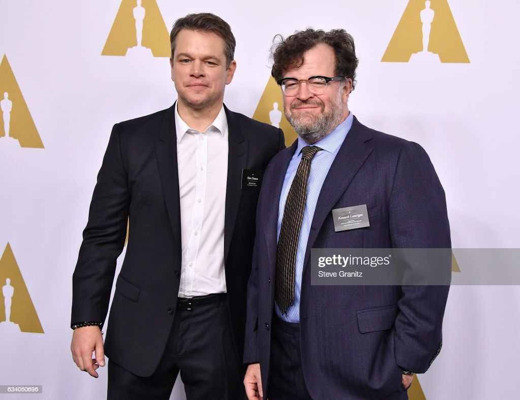 Actor/Producer Matt Damon and Filmmaker Kenneth Lonergan attends the 89th Annual Academy Awards Nominee Luncheon at The Beverly Hilton Hotel on February 6, 2017 in Beverly Hills, California.