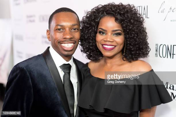 Actor/Producer Melvin Jackson Jr. And Actress Kelly Jenrette attends the Los Angeles Confidential Emmys Celebration at Kimpton La Peer Hotel on...