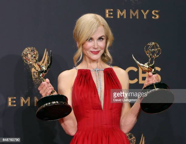 Actor/producer Nicole Kidman winner of the awards for Outstanding Limited Series and Outstanding Lead Actress in a Limited Series or Movie for 'Big...
