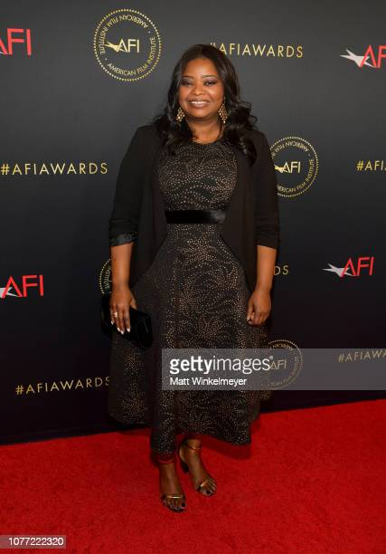 Actorproducer Octavia Spencer attends the 19th Annual AFI Awards at Four Seasons Hotel Los Angeles at Beverly Hills on January 4 2019 in Los Angeles...