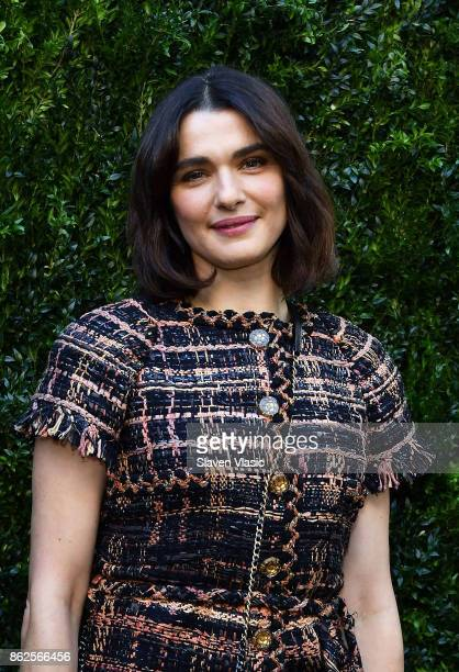 Actor/producer Rachel Weisz attends Through Her Lens The Tribeca Chanel Women's Filmmaker Program Luncheon at Locanda Verde on October 17 2017 in New...