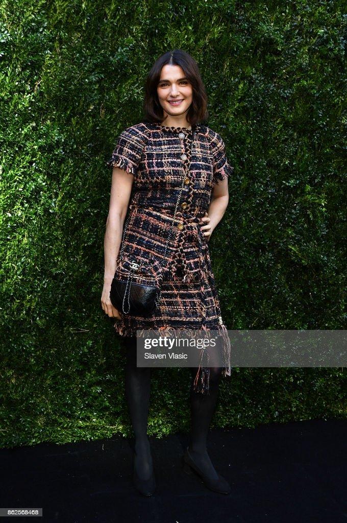 Actor/producer Rachel Weisz attends Through Her Lens: The Tribeca Chanel Women's Filmmaker Program Luncheon at Locanda Verde on October 17, 2017 in New York City.