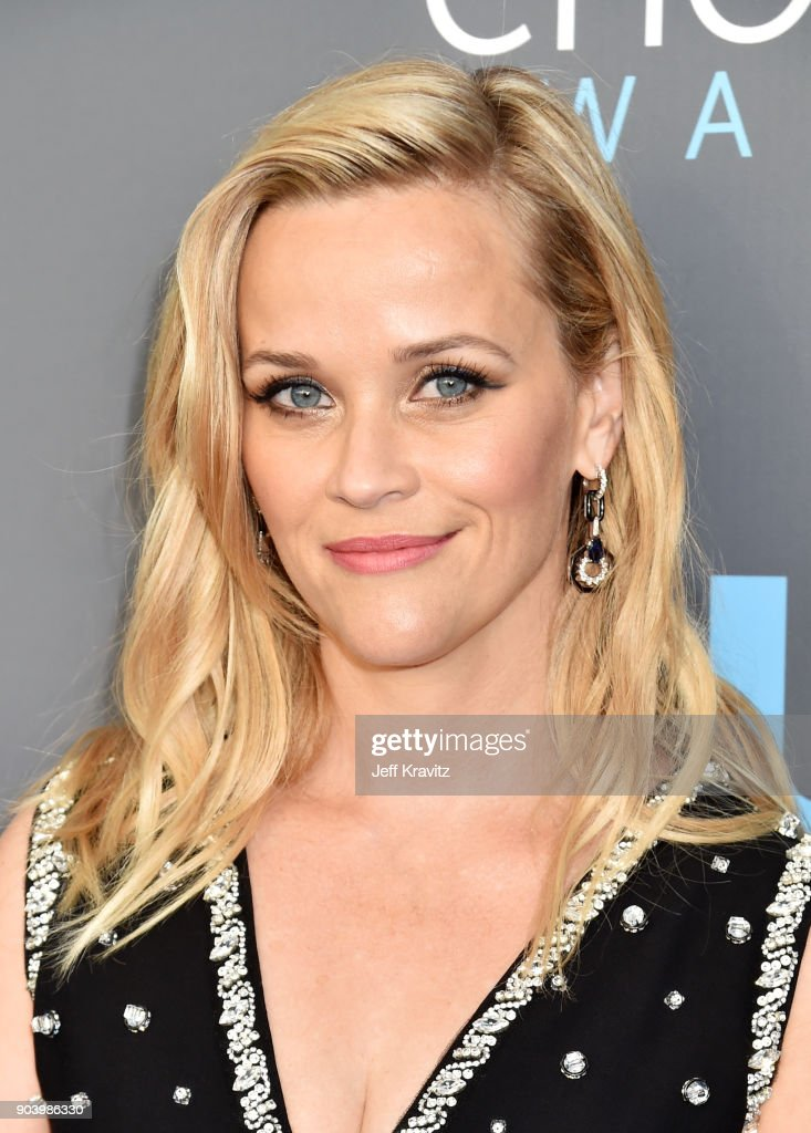 Actor/producer Reese Witherspoon attends The 23rd Annual Critics' Choice Awards at Barker Hangar on January 11, 2018 in Santa Monica, California.
