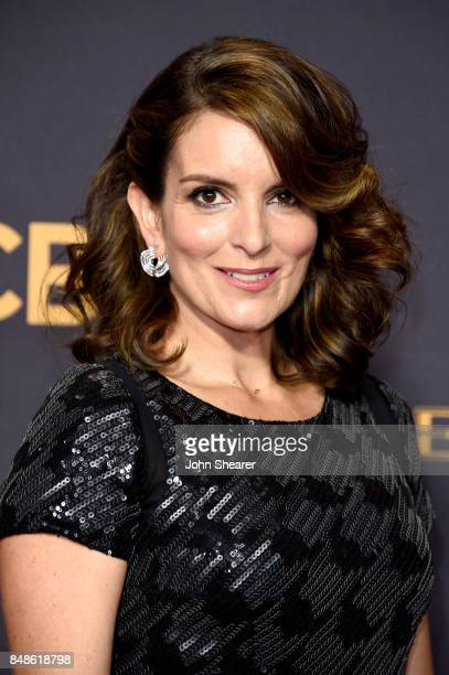 Actor-producer Tina Fey attends the 69th Annual Primetime Emmy Awards at Microsoft Theater on September 17, 2017 in Los Angeles, California.