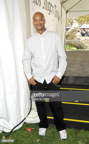 Actor/Producer Todd Bridges attends the Los Angeles Times Festival of Books on the Campus of UCLA on April 24 2010 in Westwood California
