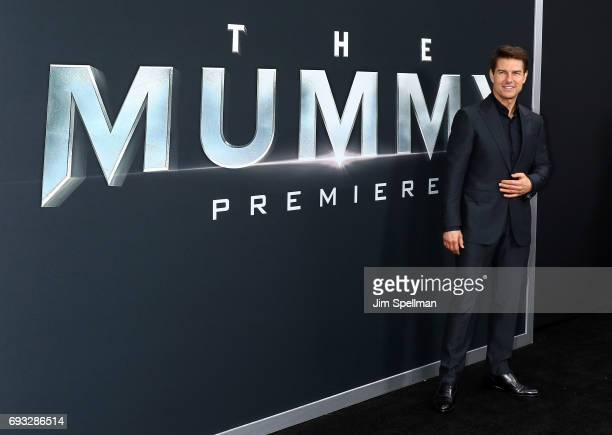 Actor/producer Tom Cruise attends 'The Mummy' New York fan event at AMC Loews Lincoln Square on June 6 2017 in New York City