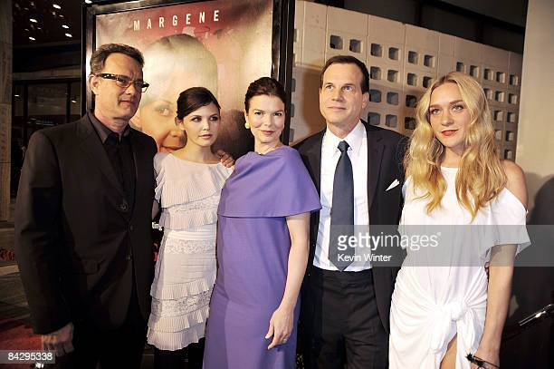 Actor/producer Tom Hanks and actors Ginnifer Goodwin Jeanne Tripplehorn Bill Paxton and Chloe Sevigny arrive at the premiere of HBO's Big Love 3rd...