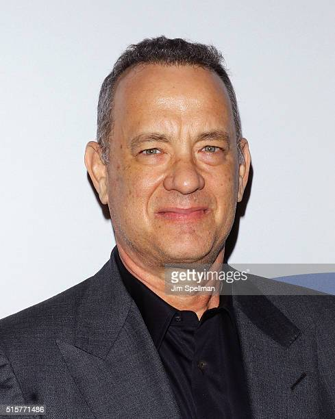 Actor/producer Tom Hanks attends the 'My Big Fat Greek Wedding 2' New York premiere at AMC Loews Lincoln Square 13 theater on March 15 2016 in New...
