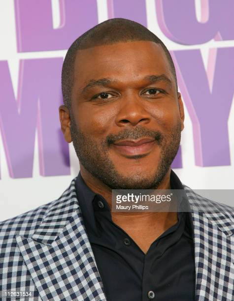 Actor/producer Tyler Perry arrives at Tyler Perry's Madea's Big Happy Family Los Angeles Premiere at The Dome at Arclight Hollywood on April 19 2011...