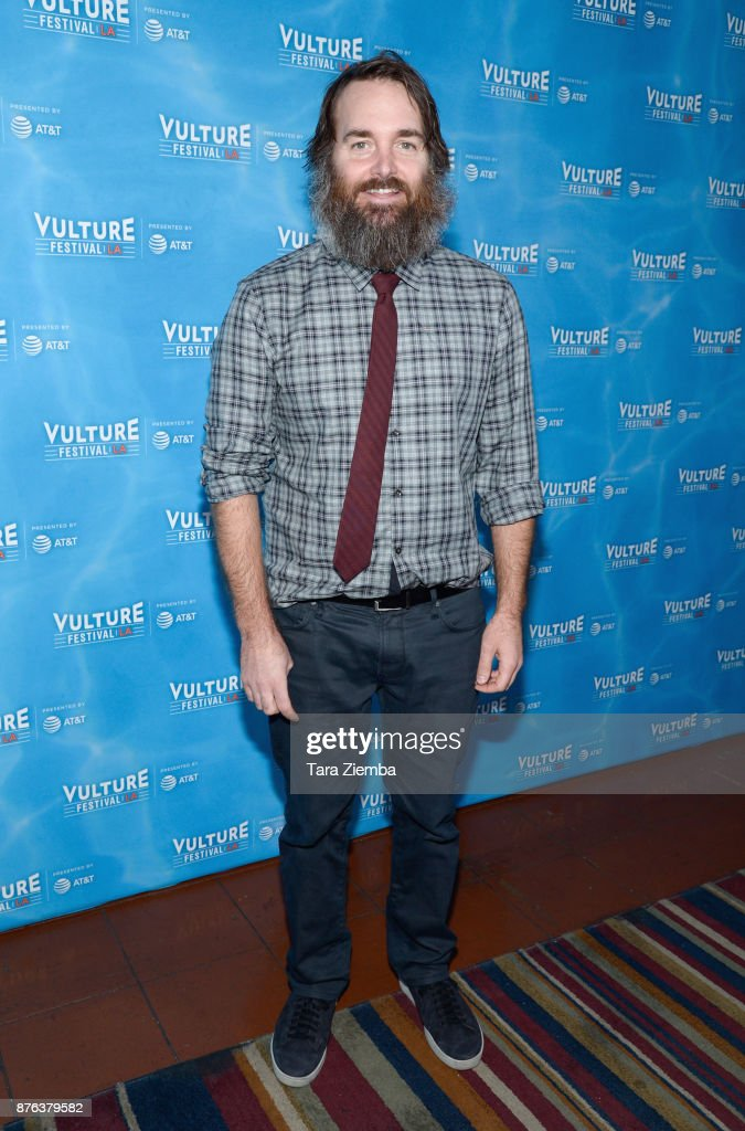 Actor/producer Will Forte attends the Clone High Reunion panel during Vulture Festival Los Angeles at Hollywood Roosevelt Hotel on November 19, 2017 in Hollywood, California.