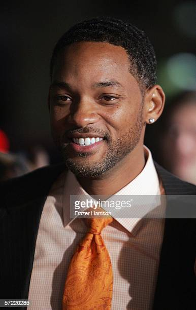 Actor/producer Will Smith arrives at the Premiere Of Warner Bros ATL held at Grauman's Chinese Theatre on March 30 2006 in Hollywood California