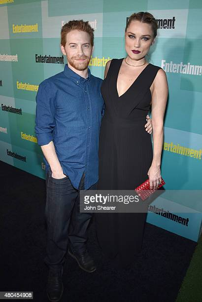 Actor/producer/writer Seth Green and actress Clare Grant attend Entertainment Weekly's Annual ComicCon Party in celebration of ComicCon 2015 at FLOAT...