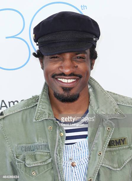 Actor/rapper Andre Benjamin attends the 2015 Film Independent Spirit Awards on February 21 2015 in Santa Monica California