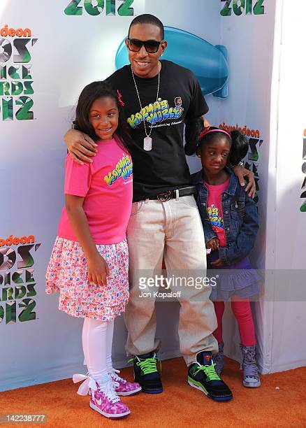 Actor/rapper Chris 'Ludacris' Bridges and guests arrive at the 2012 Nickelodeon's Kids' Choice Awards held at the Galen Center on March 31 2012 in...