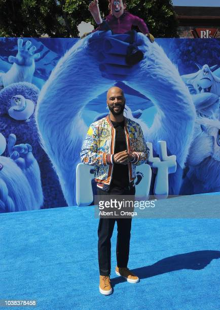 Actor/rapper Common arrives for the Premiere Of Warner Bros Pictures' Smallfoot held at Regency Village Theatre on September 22 2018 in Westwood...
