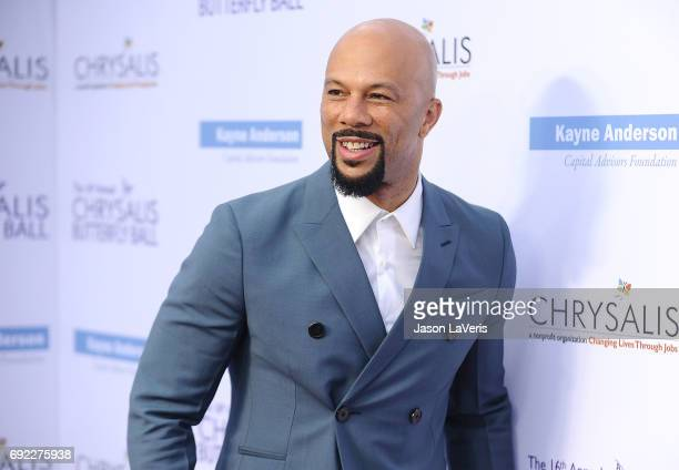 Actor/rapper Common attends the 16th annual Chrysalis Butterfly Ball on June 3 2017 in Brentwood California