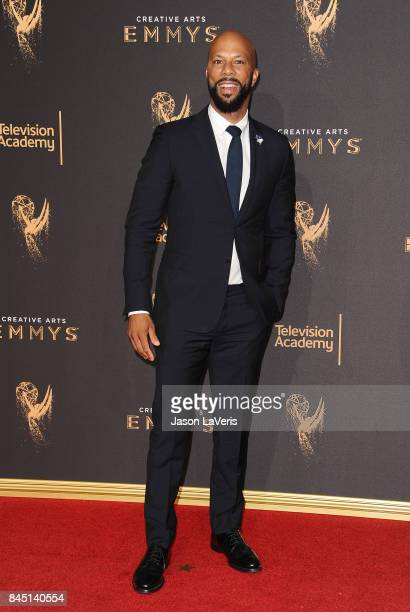 Actor/rapper Common attends the 2017 Creative Arts Emmy Awards at Microsoft Theater on September 9 2017 in Los Angeles California