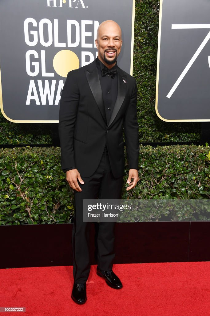 Actor/rapper Common attends The 75th Annual Golden Globe Awards at The Beverly Hilton Hotel on January 7, 2018 in Beverly Hills, California.