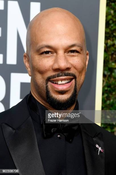 Actor/rapper Common attends The 75th Annual Golden Globe Awards at The Beverly Hilton Hotel on January 7 2018 in Beverly Hills California