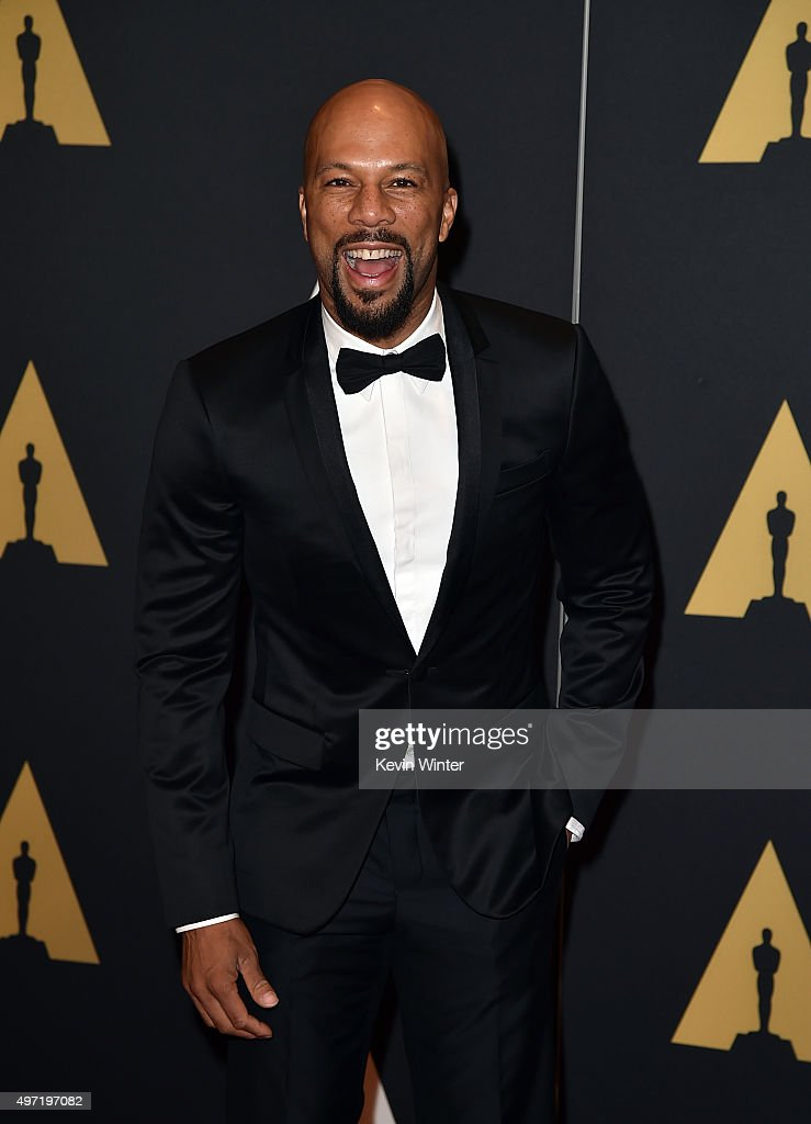 Actor/rapper Common attends the Academy of Motion Picture Arts and Sciences' 7th annual Governors Awards at The Ray Dolby Ballroom at Hollywood & Highland Center on November 14, 2015 in Hollywood, California.