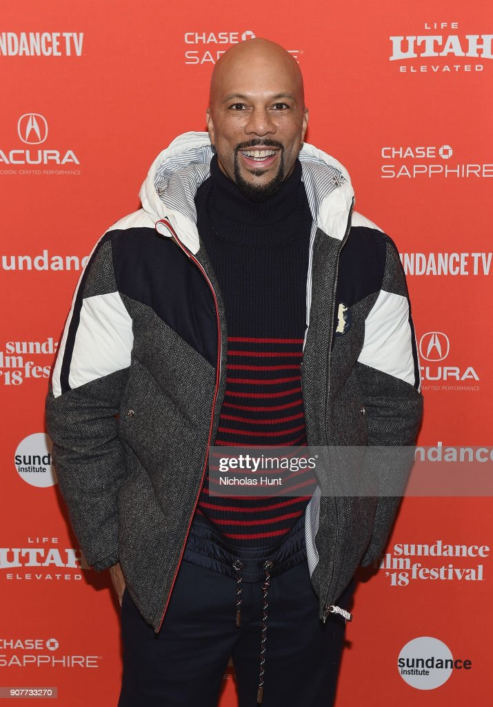 Actor/rapper Common attends the 'The Tale' Premiere during 2018 Sundance Film Festival the at Eccles Center Theatre on January 20, 2018 in Park City, Utah.