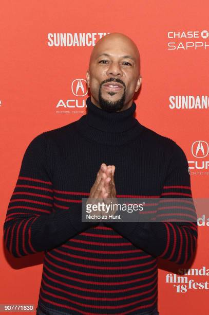 Actor/rapper Common attends the The Tale Premiere during 2018 Sundance Film Festival the at Eccles Center Theatre on January 20 2018 in Park City Utah