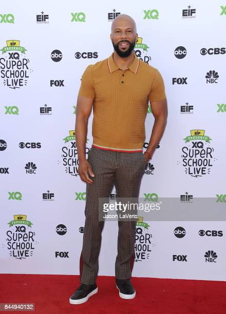 Actor/rapper Common attends XQ Super School Live at The Barker Hanger on September 8 2017 in Santa Monica California