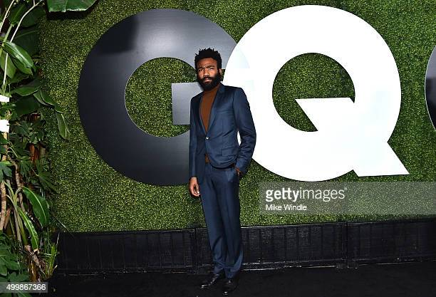 Actor/rapper Donald Glover attends the GQ 20th Anniversary Men Of The Year Party at Chateau Marmont on December 3 2015 in Los Angeles California