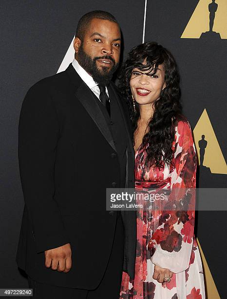 Actor/rapper Ice Cube and wife Kimberly Woodruff attend the 7th annual Governors Awards at The Ray Dolby Ballroom at Hollywood Highland Center on...