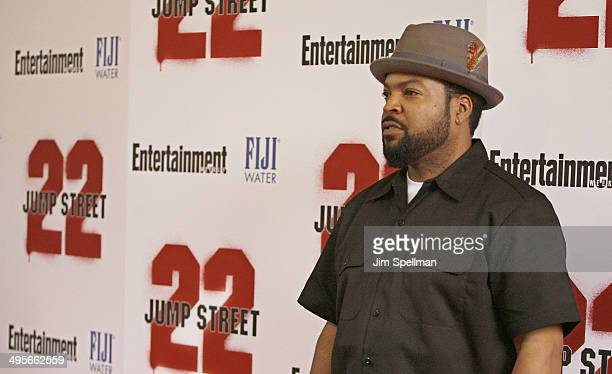 Actor/rapper Ice Cube attends the 22 Jump Street premiere at AMC Lincoln Square Theater on June 4 2014 in New York City