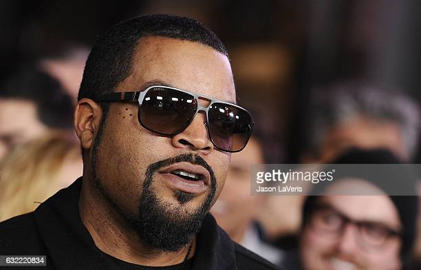 Actor/rapper Ice Cube attends the premiere of 'xXx Return of Xander Cage' at TCL Chinese Theatre IMAX on January 19 2017 in Hollywood California