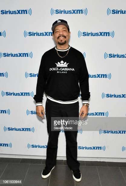 Actor/rapper Ice-T visits SiriusXM Studios on November 14, 2018 in New York City.