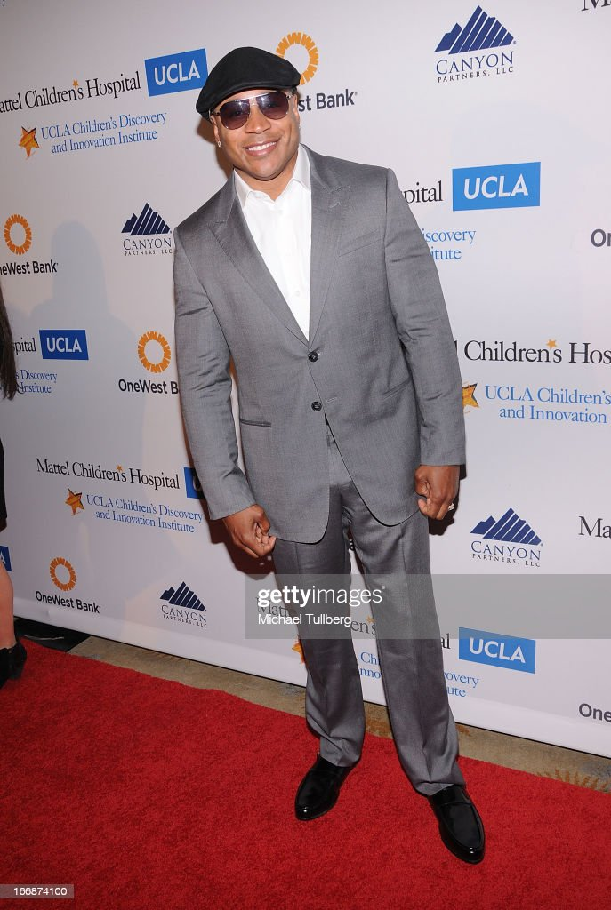 Actor/Rapper LL Cool J attends 'The Kaleidescope Ball' benefitting The UCLA Children's Discovery And Innovation Institute at Beverly Hills Hotel on April 17, 2013 in Beverly Hills, California.