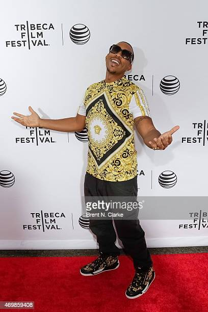 Actor/rapper Ludacris attends the world premiere of Live From New York held at The Beacon Theatre on April 15 2015 in New York City