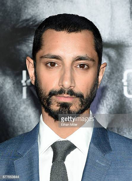 Actor/rapper Riz Ahmed attends the premiere of Universal Pictures' Jason Bourne at The Colosseum at Caesars Palace on July 18 2016 in Las Vegas Nevada