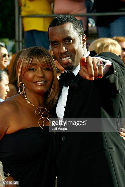 Actor/rapper Sean 'Diddy' Combs and mother Janice Combs arrive at the 60th Primetime Emmy Awards at the Nokia Theater on September 21 2008 in Los...