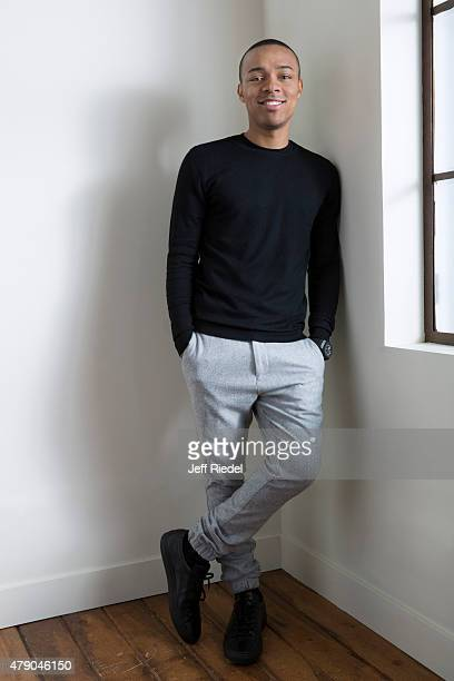 Actor/rapper Shad Moss is photographed for TV Guide Magazine on January 12 2015 in Pasadena California