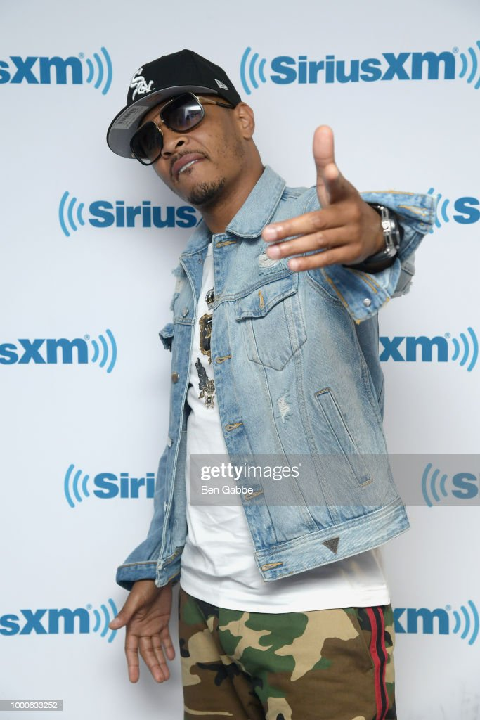 Celebrities Visit SiriusXM - July 17, 2018