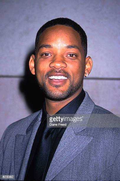 Actor/rapper Will Smith arrives at the Enemy of the State film premiere at the Walter Reade Theatre in New York City November 18 1999