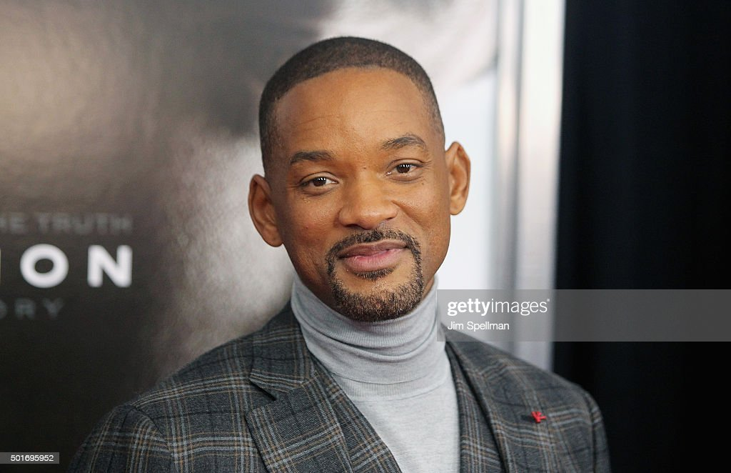 Actor/rapper Will Smith attends the 'Concussion' New York premiere at AMC Loews Lincoln Square on December 16, 2015 in New York City.