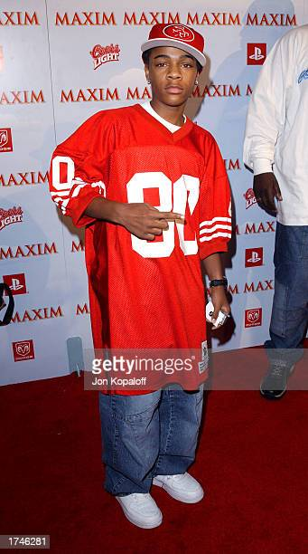 Actor/recording artist Bow Wow attends Maxim Magazine Heats Up Superbowl In Maximville USA at the Old Wonderbread Factory on January 25 2003 in San...