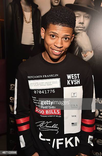 Actor/recording artist Bryshere Gray aka Yazz attends V103 A Conversation With Jussie Smollett Bryshere Gray at Suite on March 20 2015 in Atlanta...