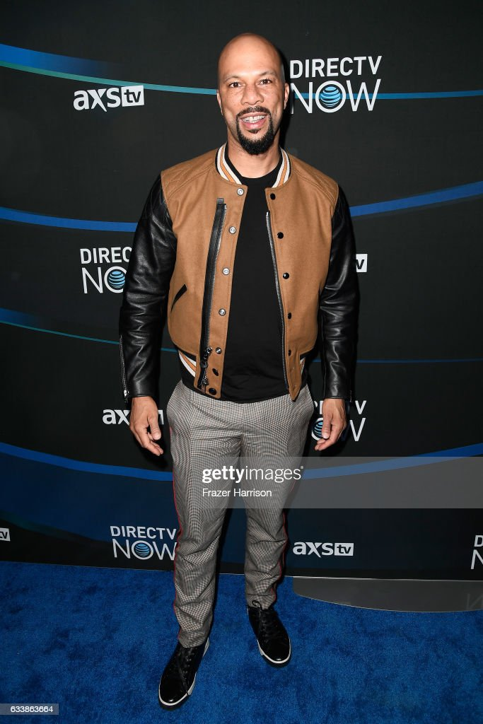 Actor/recording artist Common attends the 2017 DIRECTV NOW Super Saturday Night Concert at Club Nomadic on February 4, 2017 in Houston, Texas.