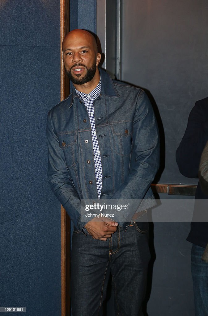 Actor/recording artist Common attends the 'LUV' Tastemaker Screening at Soho House on January 8, 2013 in New York City.