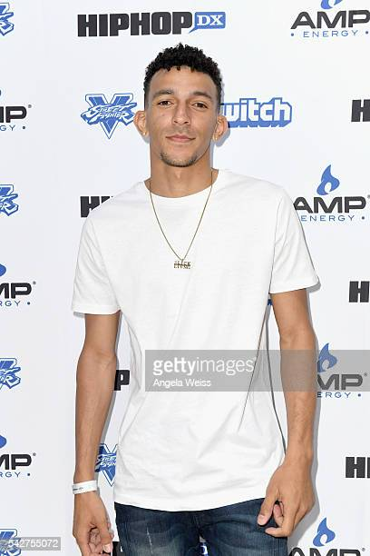 Actor/Recording artist Khleo Thomas attends Next Level Presented By AMP Energy A Hip Hop Gaming Tournament at Rostrum Records on June 23 2016 in Los...