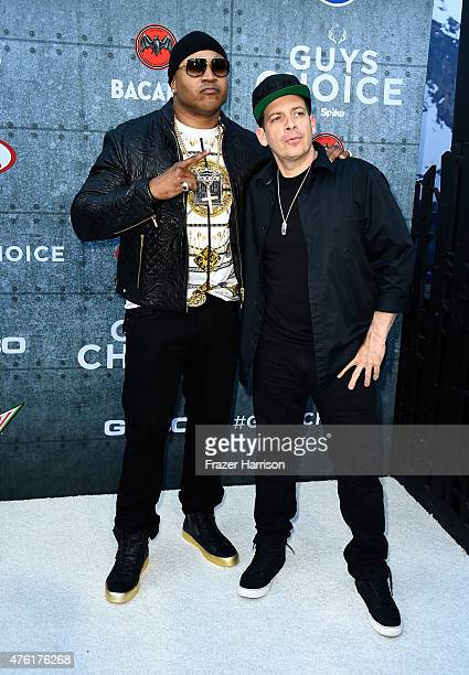 Actor/recording artist LL Cool J and DJ Z-trip attend Spike TV's Guys Choice 2015 at Sony Pictures Studios on June 6, 2015 in Culver City, California.