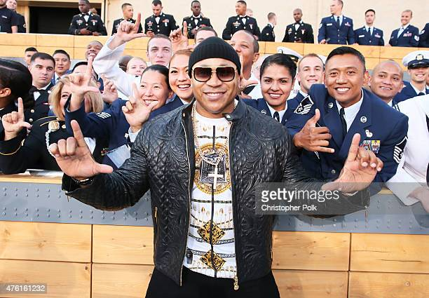 Actor/recording artist LL Cool J attends Spike TV's Guys Choice 2015 at Sony Pictures Studios on June 6 2015 in Culver City California