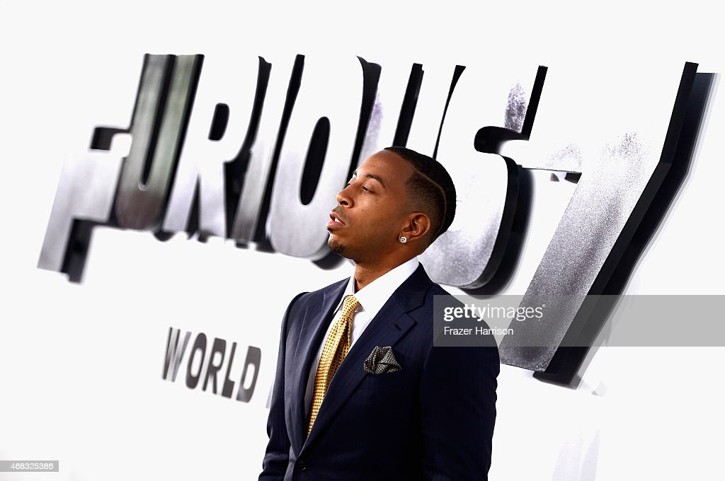 Actor/recording artist Ludacris arrives at the Premiere Of Universal Pictures' 'Furious 7' at TCL Chinese Theatre on April 1, 2015 in Hollywood, California.