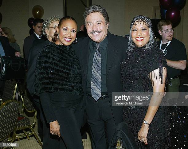 Actor/recording artist Telma Hopkins recording artists Tony Orlando and Joyce Vincent attend the Second Annual TV DVD Conference at the Century Plaza...