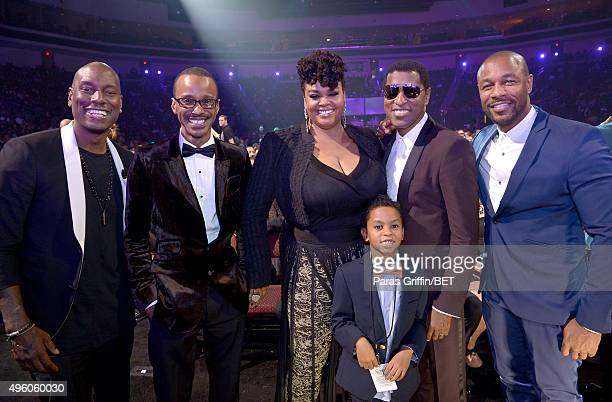 Actor/recording artist Tyrese singer Tevin Campbell honoree Jill Scott Jett Hamilton Roberts honoree Kenneth Babyface Edmonds and recording artist...